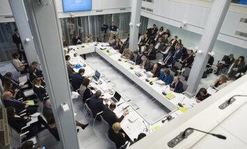 """Комиссия Сейма без поддержки """"Единства"""" направила на рассмотрение спорные поправки к закону о кредитных учреждениях"""
