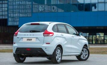 Video: 'AvtoVAZ' uzsācis jaunā 'Lada XRay' hečbeka ražošanu