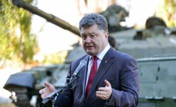 Порошенко: вступление Украины в НАТО – в компетенции народа