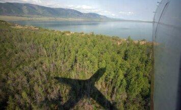 Helikoptera un hidroplāna sadursmē Piemaskavā gājuši bojā astoņi pasažieri