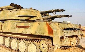 Video: 'Daesh' atrāda Palmīrā iegūtos Krievijas un Sīrijas ieročus