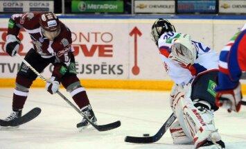 Debitanti Upītis un Nieminens nodrošina Rīgas 'Dinamo' uzvaru