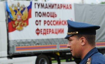Uz Donbasu devies 32. Krievijas 'humānās palīdzības' konvojs