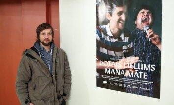 Foto: Ievas Ozoliņas filmas 'Dotais lielums: mana māte' pirmizrāde