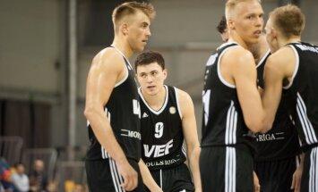 'VEF Rīga' Vienotās līgas mačā pieveic Somijas komandu 'Nilan Bisons'