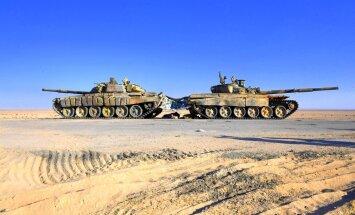 Kā Sīrijas sabiedrotie metās cīņā par brūkošā 'Daesh' mantojumu