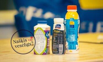 'Našķis vai veselīgs produkts': uztura speciāliste vērtē proteīna dzērienus