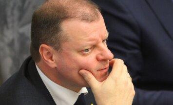 Lietuvas premjers valdības krīzes dēļ atceļ vizīti Gruzijā
