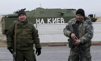 Maskava: mēs nespējam apturēt brīvprātīgo došanos uz Donbasu