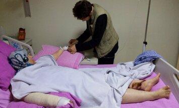 'Amnesty International' aicina izmeklēt civiliedzīvotāju nāvi Krievijas uzlidojumos Sīrijā