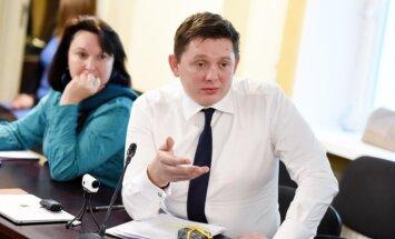 Кайминьш заявил, что взломаны все его профили в соцсетях; в полицию обращаться не будет