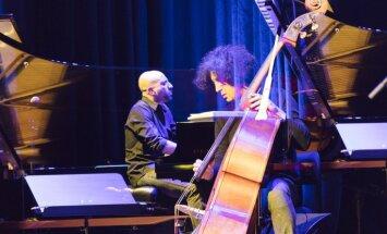 Foto: Džezs itāļu gaumē – Kekko Fornarelli trio Liepājas zvaigžņu festivālā