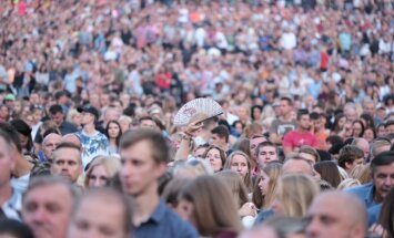 'Prāta vētras' koncerts Mežaparkā aizvadīts mierīgi, norāda policija