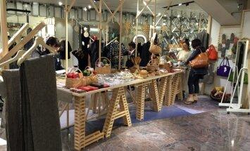 Foto: Japānā atklāj Latvijas ražojumu 'pop-up' veikalu