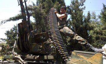 ASV un Turcija apmācīs un apbruņos Sīrijas opozīcijas kaujiniekus