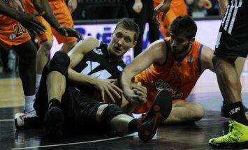 'VEF Rīga' basketbolisti 'izsēj' 22 punktu pārsvaru un vēl neiekļūst Eiropas kausa ceturtdaļfinālā