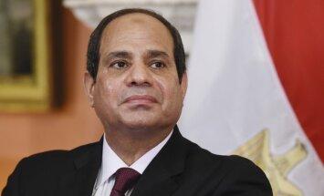 Ēģiptes prezidents Sisi izlikts pārdošanai internetā