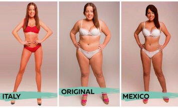 Foto: Kā mainās izpratne par ideālās sievietes izskatu 18 pasaules valstīs