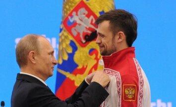 Российские олимпийцы обратились к Путину с просьбой о помощи