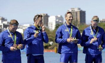 Rio nedienas nebeidzas: sākušas bojāties olimpiskās medaļas