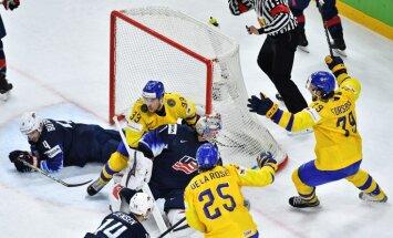 Швеция уничтожила США и стала первым финалистом чемпионата мира по хоккею