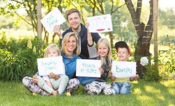 Galvenais ir gribēt: Ošiņu ģimenes stāsts par dārza atjaunošanu Lucavsalā