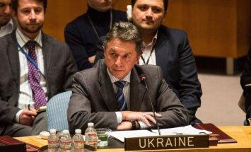 Ukraina aicina ANO Drošības padomi apturēt Krievijas agresiju Krimā