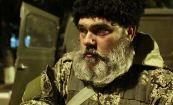 Bārdainais separātists 'Babajs': 'Ukrainā ierados apturēt amerikāņu ļaunumu'