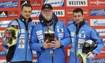 Foto: Latvieši Vinterbergā - Dukuru triumfs un Melbārža neveiksme