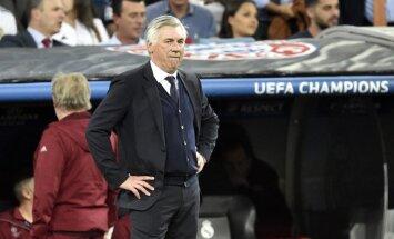 Pēc apšaubāmā Ronaldu 'gola' 'Bayern' treneris aicina futbolā ieviest video tehnoloģiju