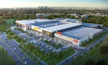ФОТО: Как будет расширяться торговый центр Alfa