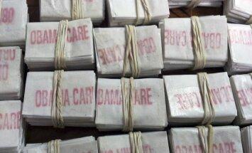 ASV atrod heroīna paciņas ar uzrakstiem 'Obama Care' un 'Kurt Cobain'