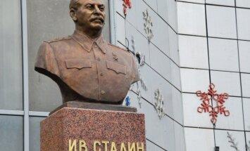 Sibīrijā atklāts Staļina piemineklis