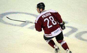 Pujacs savainojuma dēļ nespēlēs līdz KHL regulārā čempionāta beigām