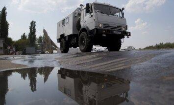 Obama un Merkele nosoda 'humānās palīdzības' konvoja iebraukšanu Ukrainā