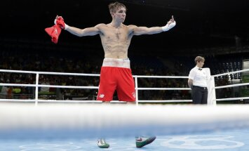 Ireland Michael John Conlan after losing