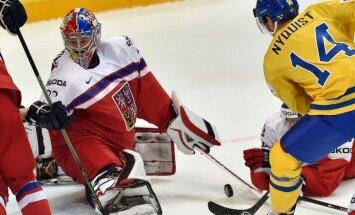 Pasaules hokeja čempionāts: Zviedrija-Čehija, Somija-ASV. Teksta tiešraides arhīvs