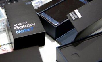 ASV aizliedz pārvadāt lidmašīnās 'Samsung' atsauktos viedtālruņus 'Galaxy Note 7'