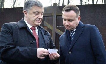 Ukraina un Polija mēģina atrisināt vēsturisku strīdu