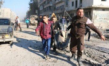Izraēlas uzlidojumos Sīrijā gājuši bojā 11 irāņu kaujinieki, ziņo aktīvisti