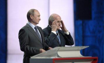 Путин: Блаттер заслуживает Нобелевской премии