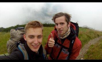 Jaunieši no Latvijas sacenšas par iespēju piedalīties Eiropas apceļošanā bez naudas