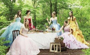 Выйти замуж в платье Белоснежки, Золушки или Рапунцель: коллекция свадебных платьев для ролевых игр