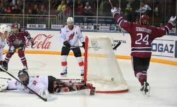 Rīgas Dinamo - Metallurg Novokuzņeck