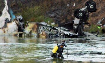Izmeklētāji noskaidrojuši 'Lokomotiv' hokejistu lidmašīnas katastrofā vainīgo