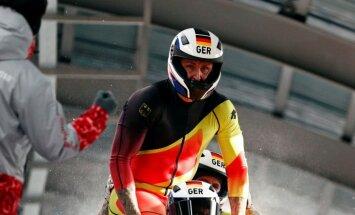 Karjeru noslēdzis titulētākais bobsleja stūmējs Kuske