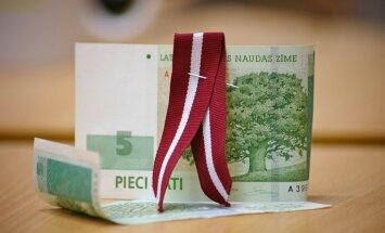 Latvijas maksājumu bilances tekošā konta deficīts pērn - 1,7% no IKP