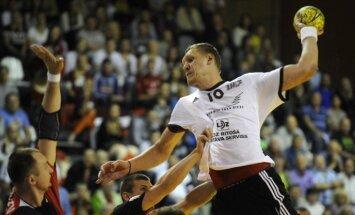 Latvijas handbolisti uzvar igauņus Rīgas domes kausa izcīņas spēlē