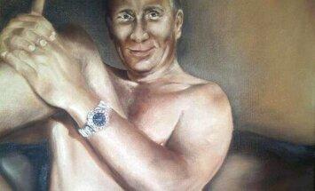 Ukraiņu māksliniece radījusi provokatīvu Putina kailportretu