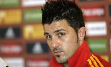 Davids Vilja tomēr nepalīdzēs Spānijas izlasei EURO 2012